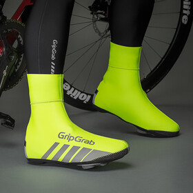 GripGrab RaceThermo Hi-Vis Surchaussures, fluo yellow